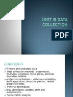 RM Unit 3 Data