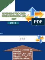 BPR & ERP-UNIT-II