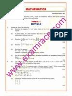IAS Mains Mathematics 2002