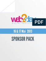 Web2day 2013 - Sponsor Pack