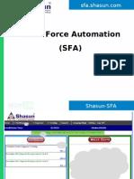 TBM-SFA User Manual