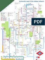 Plano de Metro Madrid