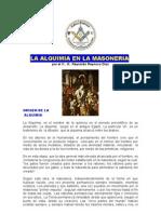 Plancha n.00970 - La Alquimia y La Masoneria