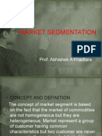 Marketing Management_market Segmentation