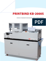 Brochure Binding Machine