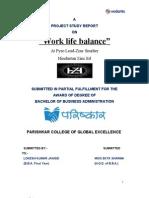Hindusthan Zinc Ltd Work Life Balance