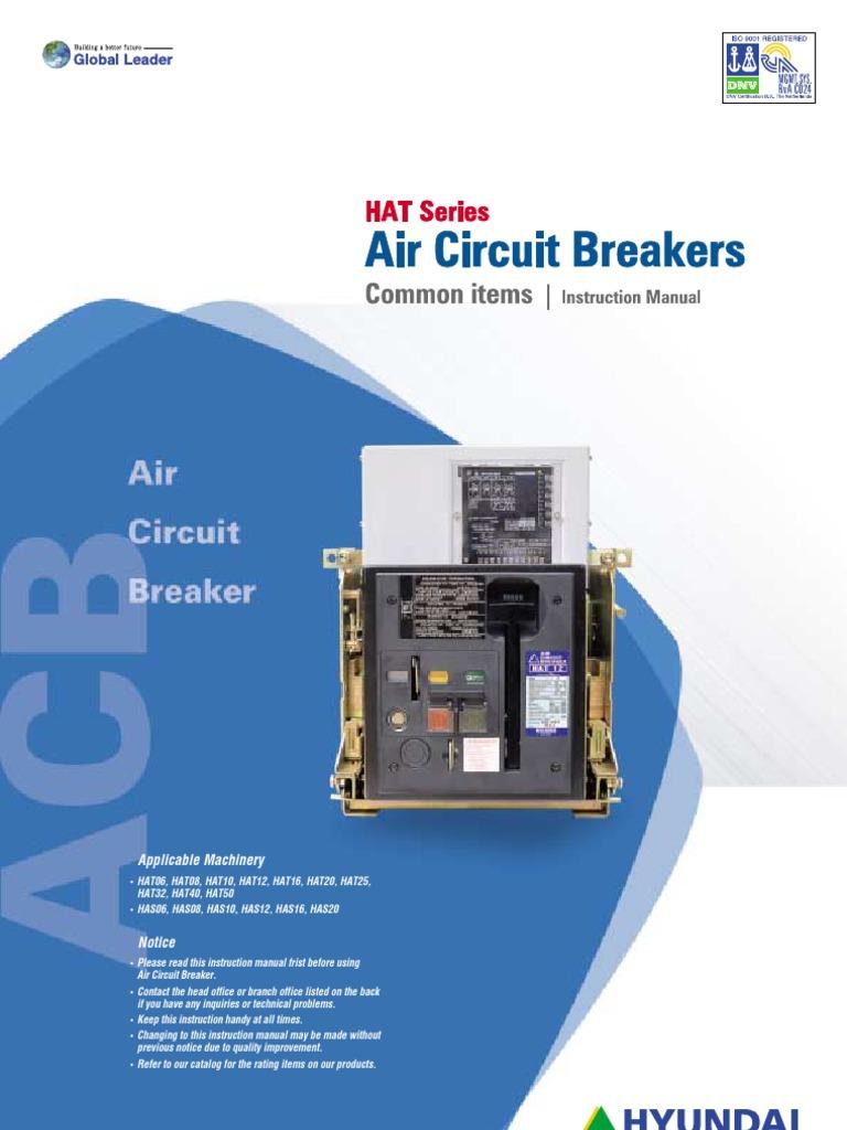 Hyundai Air Circuit Breaker   Switch   Electrical Engineering