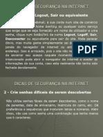 Dicas de Segurança na Internet.ppt