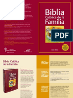 Folleto Bibilia Familia