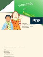 Educando en Igualdad. Pequeño diccionario coeducativo para niños y niñas de Primaria