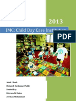 Child day care marketing communication