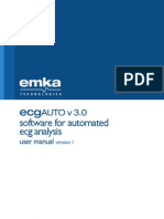 User Manual - EcgAUTO v3.0 Rev1- April 2012