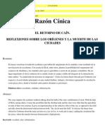 RazonCinicca_ElRetornodeCain_OrigenyMuertedelasCiudades