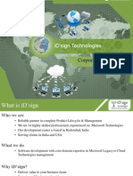 iD'sign Technologies Corporate Profile