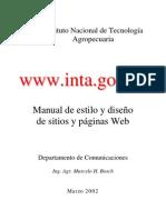 Manual De Estilo Y Diseño De Sitios Web