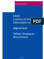 EASO, Country of Origin Information Report