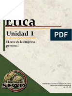 Etica 2013 01 La Empresa Personal