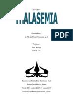 24530625 Referat Thalassemia