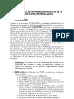 Tipos d Eorganizcaion y Registro en La Municipalidad