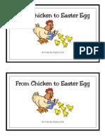 Chick to Easter Egg Reader