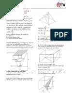 555 Exercicios Gabaritos Geometria Espacial Gabarito