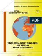 040 Brasilx Rusiax India y China Xbricx Una Realidad Geopolitica Singular