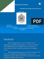The Brain Fingerprinting Technology