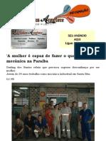 'A mulher é capaz de fazer o que quiser', diz mecânica na Paraíba