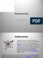 Biophysics (Radioactivity) 8