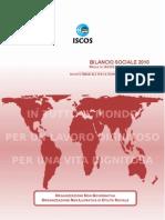 Bilancio Sociale ISCOS 2010 - Allegato Progetti