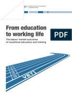 From Education to Working Life