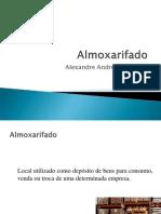 Almoxarifado - Prof Alexandre Santos