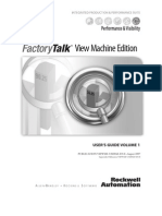 FactoryTalk View Machine Edition User's Guide Volume 1