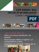 Projecte de Menjador Duran i Bas 09-10