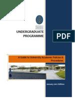 UTP Student 2012 Handbook