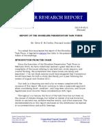 Shoreline Preservation Task Force Report