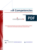 HR Competencies Summary Handout (CourageousHR)