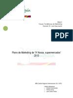 Plano de Marketing a Nossa Supermercados 2012 02 23 Preto