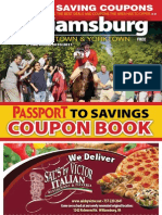 Williamsburg Coupon Book