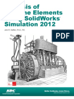 Analysis of Stress Using Solid Works Simulation 2011