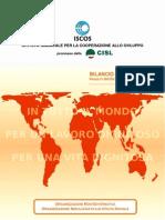 Bilancio Sociale ISCOS 2011 - Allegato Progetti