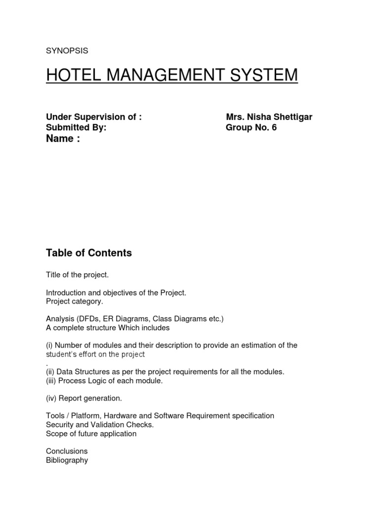 Dfd on hotel management point of sale databases ccuart Choice Image