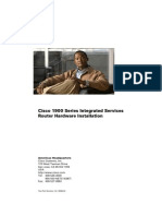 cisco router 1941 series manual installation and configuration