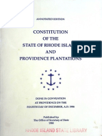 Constitution of the State of Rhode Island