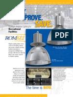 ROMLight Electronic Ballast Spec Sheet, Info