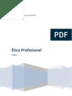 Taller Final de Etica Profesional