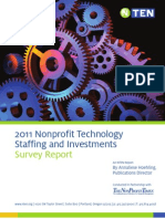 2011 Tech Staffing and Investments Report