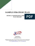 Sample Strategic Plan Proposal