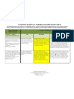 evaluation rubric pdf