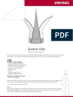 Crafts_Costume Sewing - Jesters Hat - Cosplay Pattern